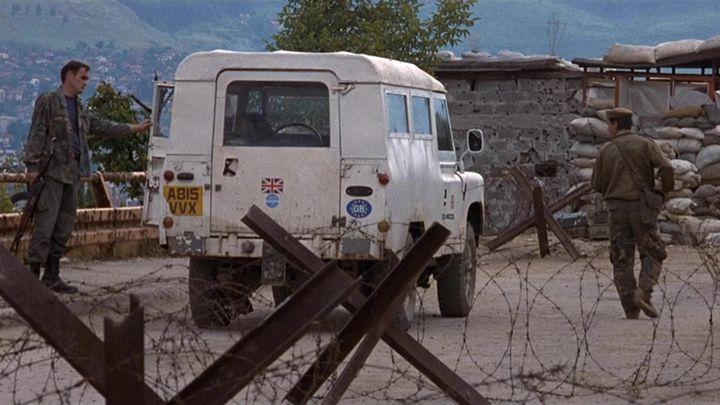 Una scena tratta dal film Benvenuti a Sarajevo