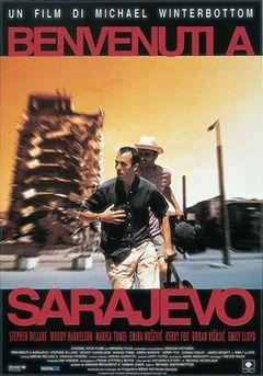 Locandina Benvenuti a Sarajevo