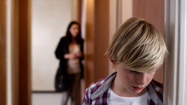 Una scena tratta dal film L'affido - Una storia di violenza