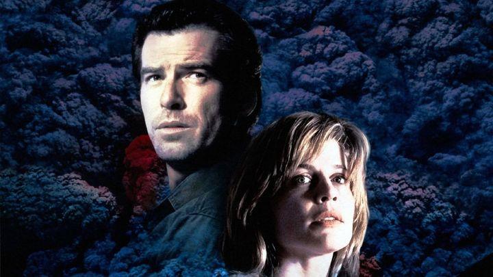 Una scena tratta dal film Dante's Peak - La Furia Della Montagna