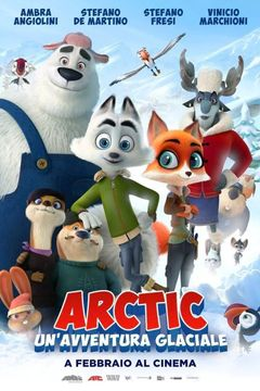 Locandina Arctic - Un'avventura glaciale