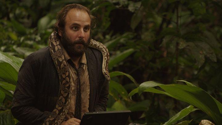 Una scena tratta dal film La legge della giungla