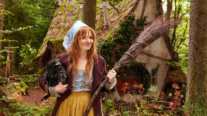 Una scena tratta dal film The Little Witch - La piccola strega