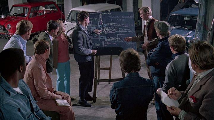 Una scena tratta dal film Un colpo all'italiana