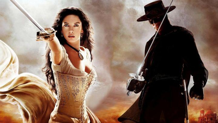 Una scena tratta dal film The Legend Of Zorro