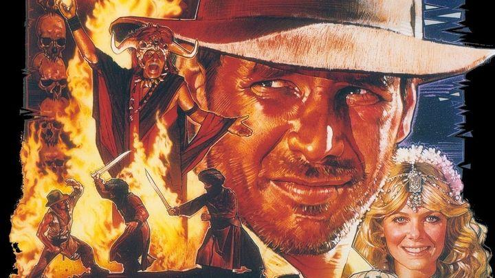 Una scena tratta dal film Indiana Jones E Il Tempio Maledetto