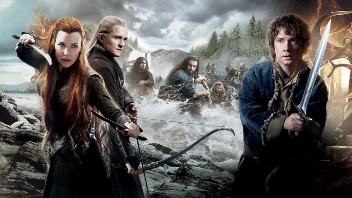 Una scena tratta dal film Lo Hobbit - La Desolazione Di Smaug