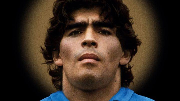 Una scena tratta dal film Diego Maradona