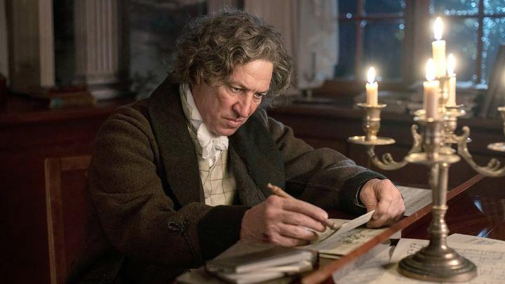 Una scena tratta dal film Louis van Beethoven