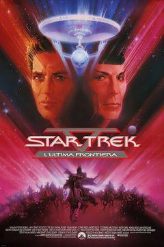 Locandina Star Trek V - L'ultima Frontiera