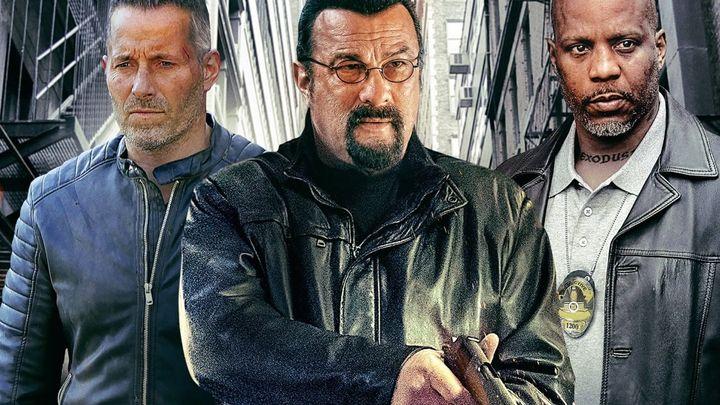 Una scena tratta dal film Beyond the Law