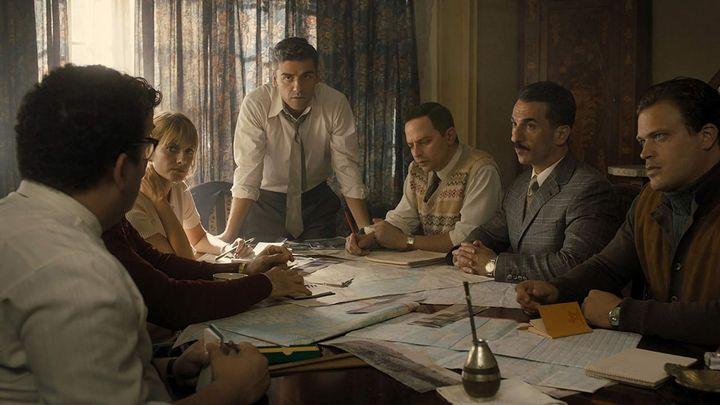 Una scena tratta dal film Operation Finale