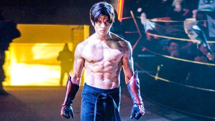 Una scena tratta dal film Tekken