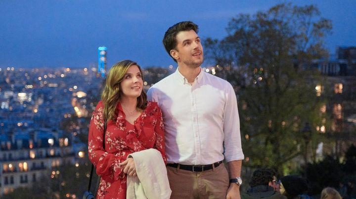 Una scena tratta dal film Innamorarsi a Parigi