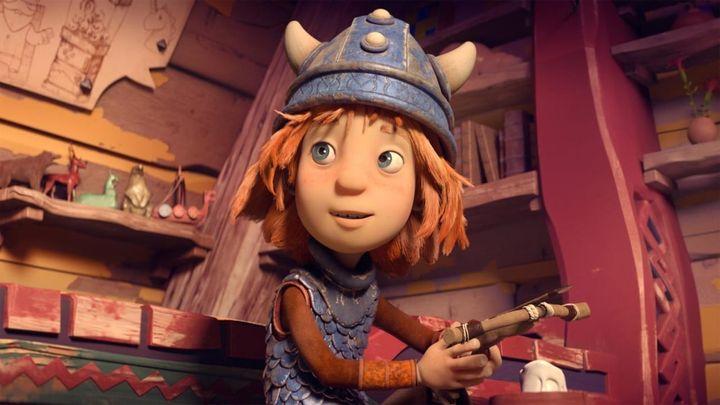 Una scena tratta dal film Vicky il vichingo: La spada magica