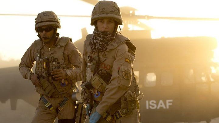 Una scena tratta dal film Zona ostile