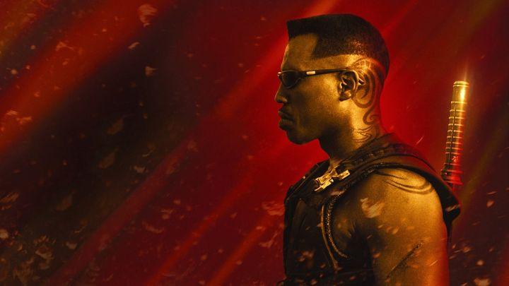 Una scena tratta dal film Blade