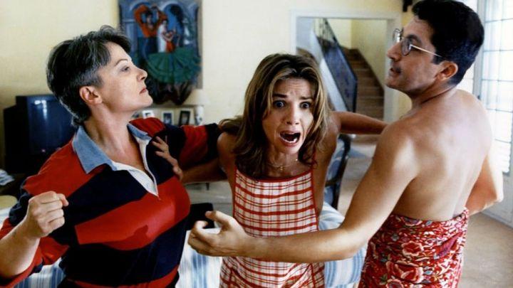 Una scena tratta dal film Peccato che sia femmina