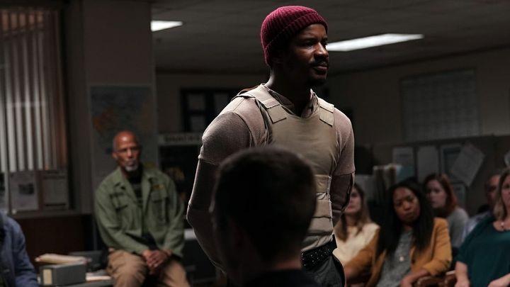 Una scena tratta dal film American Skin