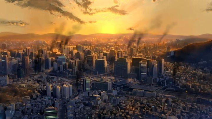 Una scena tratta dal film Seoul Station
