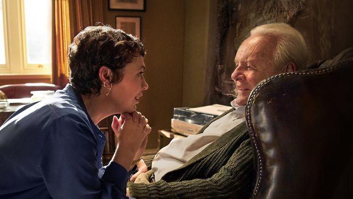 Una scena tratta dal film The Father - Nulla è come sembra