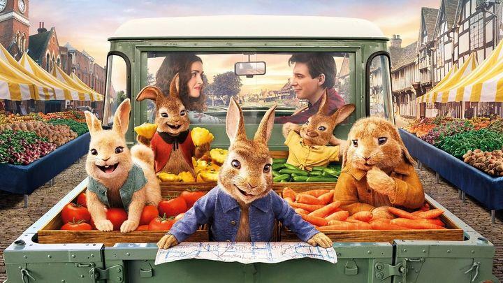 Una scena tratta dal film Peter Rabbit 2 - Un birbante in fuga