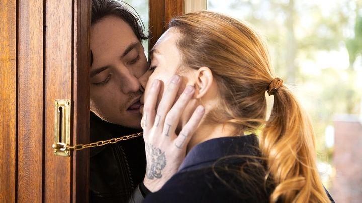 Una scena tratta dal film L'amante russo