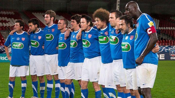Una scena tratta dal film Dream Team