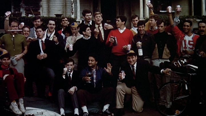 Una scena tratta dal film Animal House
