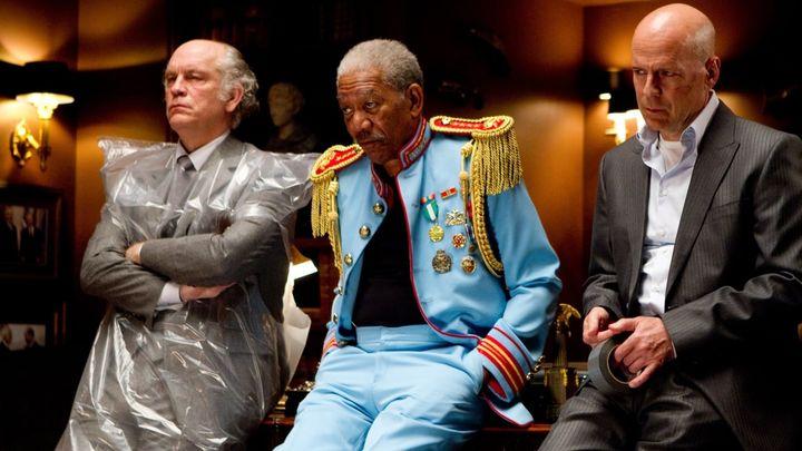 Una scena tratta dal film Red