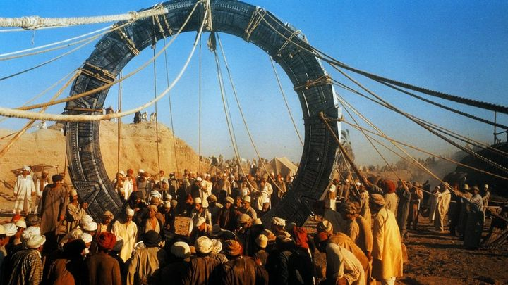 Una scena tratta dal film Stargate
