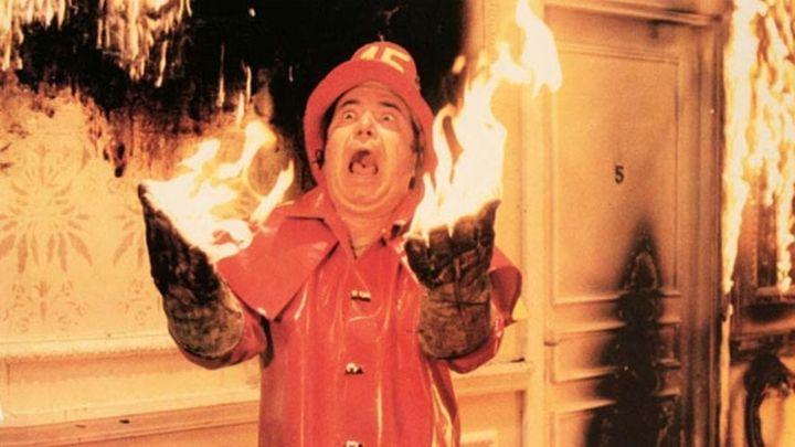 Una scena tratta dal film I Pompieri
