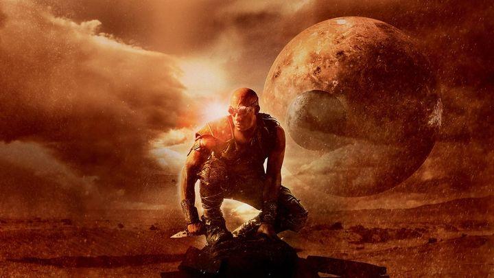 Una scena tratta dal film Riddick