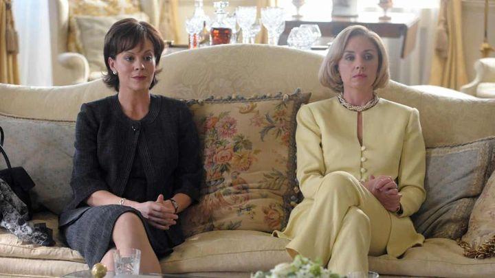 Una scena tratta dal film I Due Presidenti