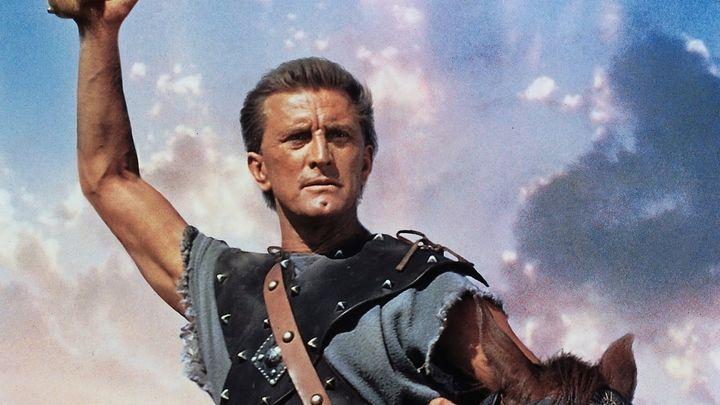 Una scena tratta dal film Spartacus