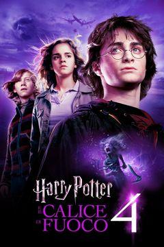 Locandina Harry Potter E Il Calice Di Fuoco