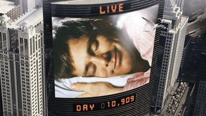 Una scena tratta dal film The Truman Show