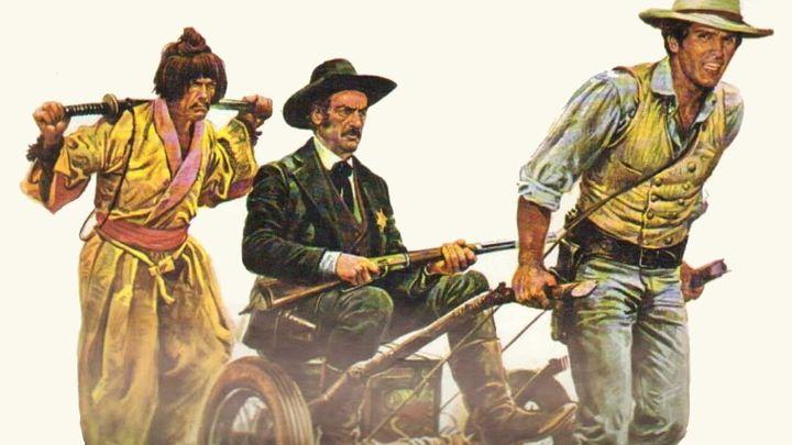 Una scena tratta dal film Il Bianco, Il Giallo, Il Nero
