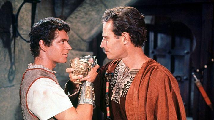 Una scena tratta dal film Ben Hur