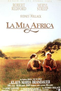 Locandina La Mia Africa