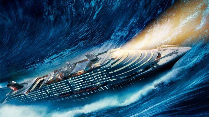 Una scena tratta dal film Poseidon