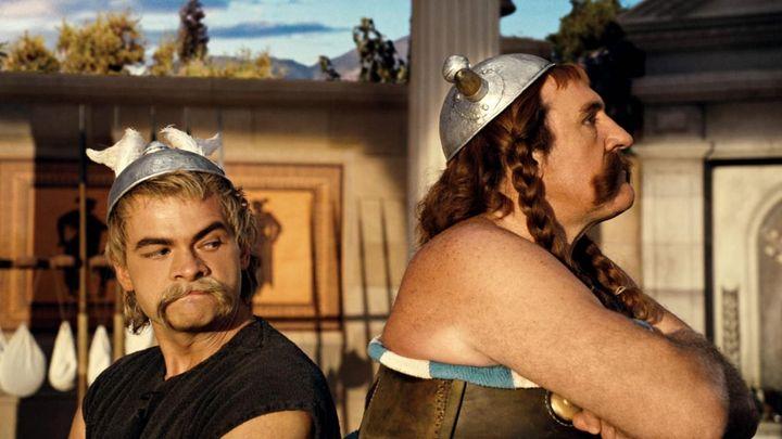 Una scena tratta dal film Asterix Alle Olimpiadi