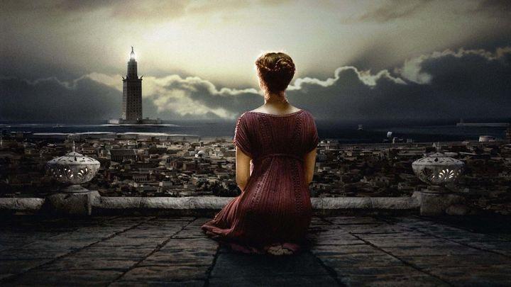 Una scena tratta dal film Agora