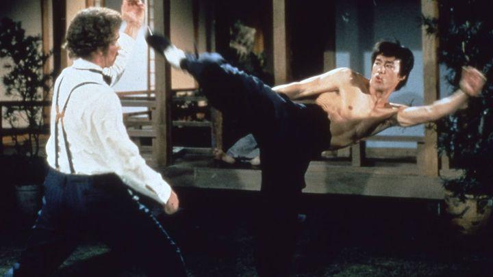 Una scena tratta dal film Dalla Cina Con Furore