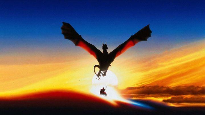 Una scena tratta dal film Dragonheart