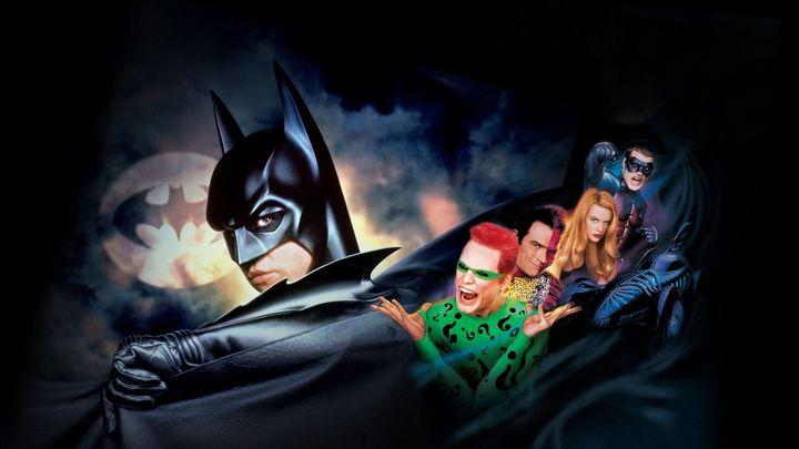 Una scena tratta dal film Batman Forever