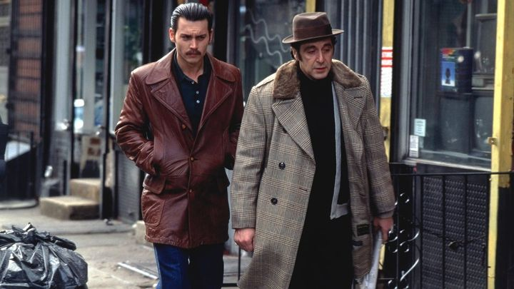 Una scena tratta dal film Donnie Brasco