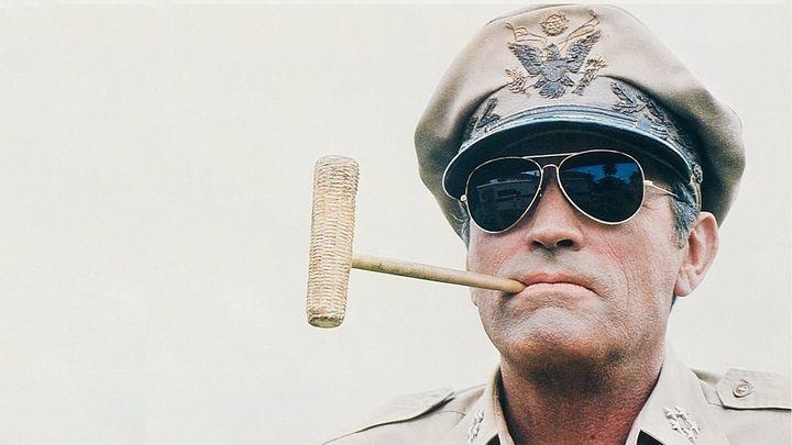 Una scena tratta dal film MacArthur il generale ribelle