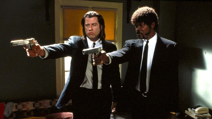 Una scena tratta dal film Pulp Fiction