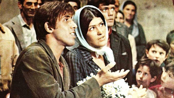 Una scena tratta dal film Serafino